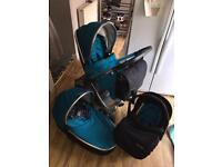 Babystyle oyster 2 teal Pram pushchair