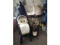 3in1 Pram Travel System with Accessories