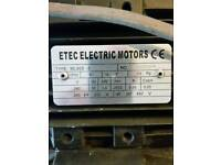 etec electric motor with screw atachment