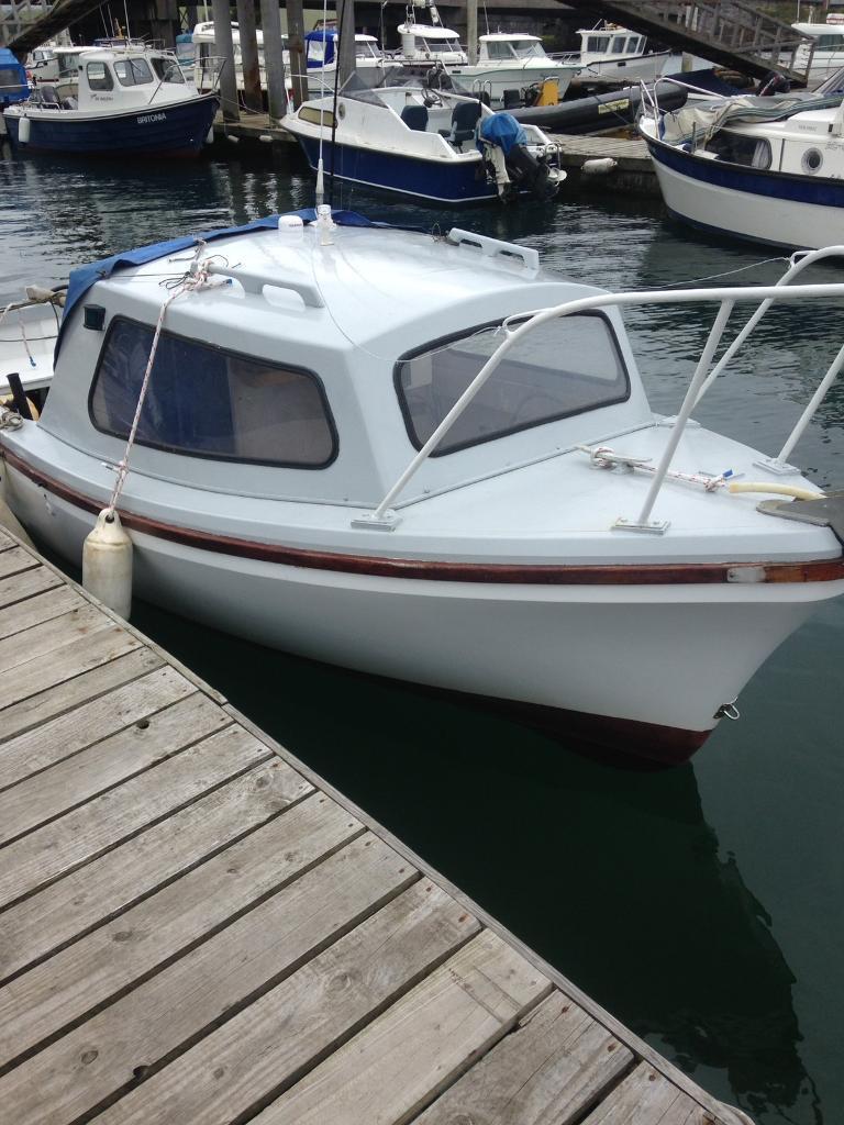 17ft Oysterman fishing boat
