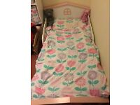 Beautiful Girl's Town House Toddler / Junior Bed - GLTC / Great Little Trading Company