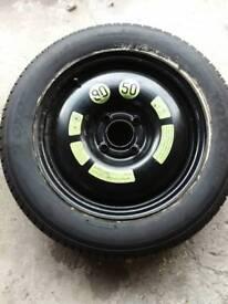 Citroen DS3 Spacesaver Wheel