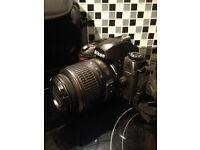 Nikon D70 DSLR + accessories and lens