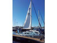 Seamaster Sailer 23 Fin Keel Cruiser Sailing Yacht