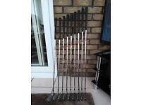 Progen Concept HMS steel shaft Irons 3-SW Very Good Condition