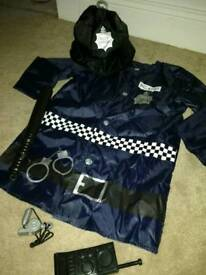 Boys Costume POLICE Halloween NEW with Accessories age 3, 4 and 5 years