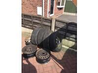 Vw wheels n tyres