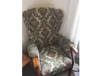 Retro armchair/granny chair
