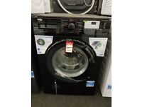 Brand New Beko WTG941B1B 9kg Load, 1400 Spin Washing Machine - Black