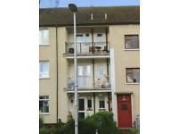 2 Bedroom unfurnished flat with Balcony in move in condition garden shared and drying area