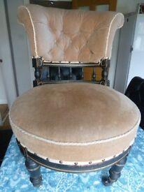 Antique Ladies Chair.