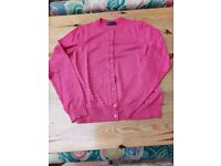 Brand new M&S pink cardigan Size 12