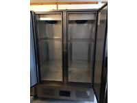 Open to offers: Foster 800l Double Door Stainless Steel Freezer