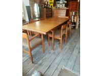 John Herbert for Younger Mid Century Extending Dining Table With Six Chairs - Retro / Vintage
