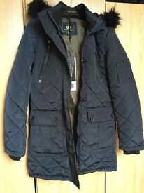 Navy Coat brand new with Tags