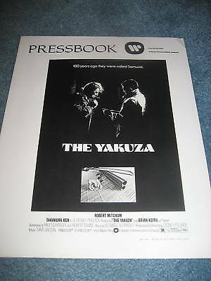 THE YAZUKA(1974)ROBERT MITCHUM ORIGINAL  PRESSBOOK