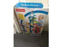Toy fisher price garage
