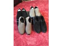 Brand new 4 pairs cotton traders shoes size 7 uk