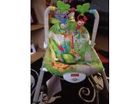 Fisher price infant to toddler rocker!