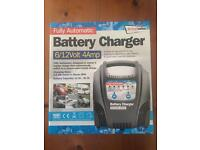 *NEW* BATTERY CHARGER - FULLY AUTOMATIC - 6/12V