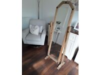 Cheval rustic mirror