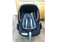 Maxi cosi pebble plus and 3 way fix base for sale