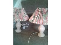 Pair of Bedside table lamps