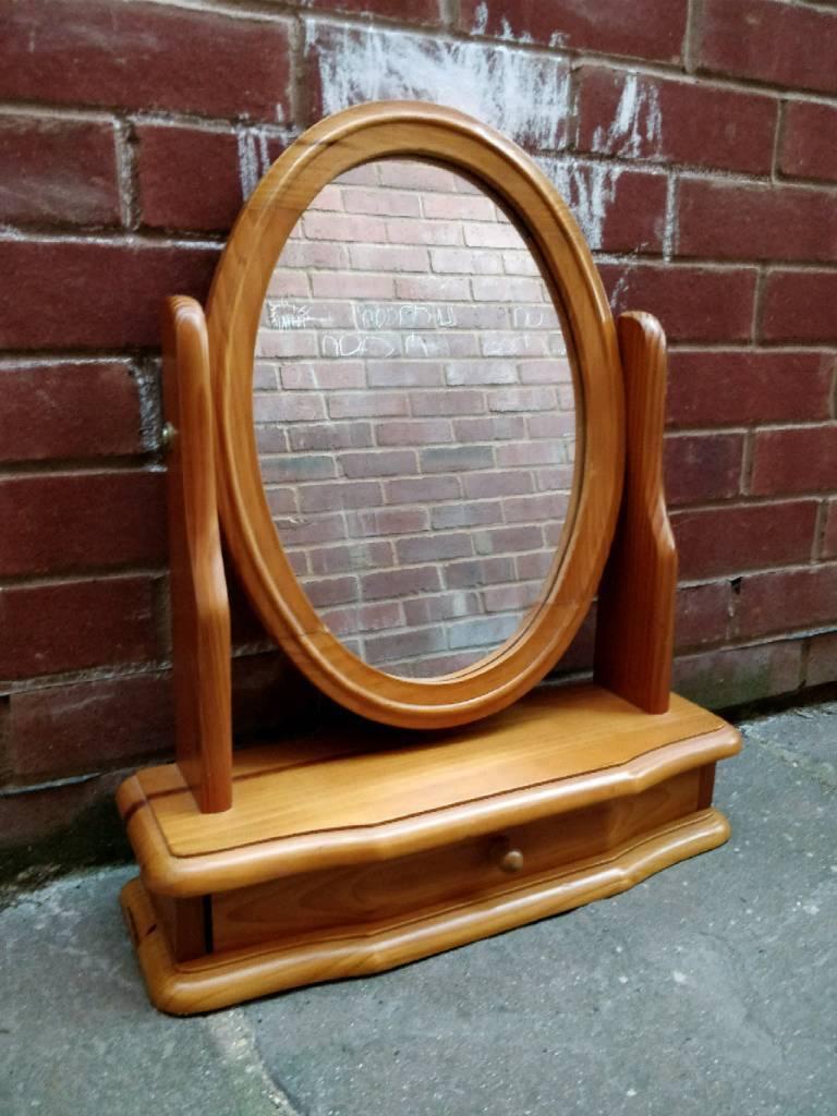 10 pine dressing table mirror   in Exeter, Devon   Gumtree