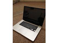 Apple MacBook Pro15inch (Not Working) 2011 model.