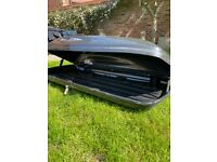Atera Roof Box and Thule Roof Bars