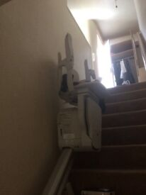 Stairlift and track Hardly used