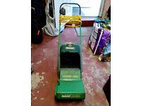 Electric cylinder lawn mower Qualcast