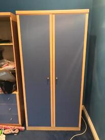 Wardrobe, Bookshelf, Drawers