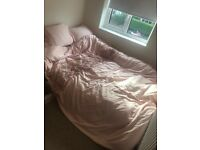 Small double mattress and bedding