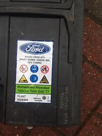 Ford 12v battery stop/start