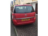 vouxhall zafira, 7seater with 8 months MOT