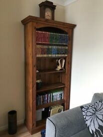 Antique Pinewood Bookcase