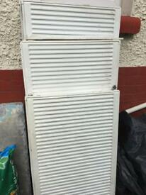 Radiators recently removed from working system
