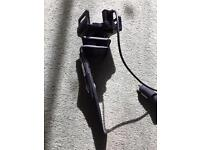 iPhone 6 in car dash charger / cradle / skin on adjustable
