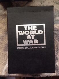THE WORLD AT WAR COMPLETE SERIES SPECIAL COLLECTORS EDITION