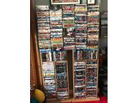 500 DVDS + BluRays & Games