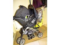 Safety 1st Travel System in good condition with rain cover