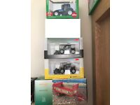 4 X DIECAST COLLECTABLE FARM VEHICLES ALL BRAND NEW