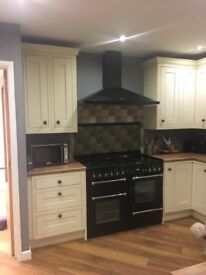 Rangemaster cooker gas job and electric ovens with rangemaster extractor fan