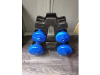 Dumbbells for fitness or aerobic