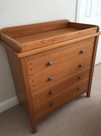 Mamas and Papas change table with drawers - in good used condition.