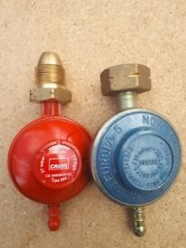 Compact Propane Gas Regulator Caravan Motorhome Calor 2x
