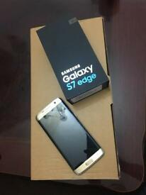SAMSUNG GALAXY S7 EDGE UNLOCKED 32 GB ALMOST NEW EXCELLENT CONDITION