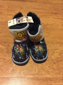 Brand New Toy Story Slipper Boots sizes 8-9, 10-11