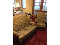 Lovely 3 pc Conservatory Suite Sofa